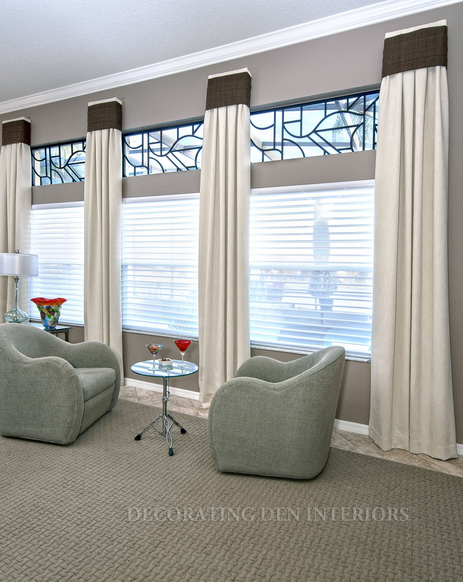 Designer Curtains, Shades And