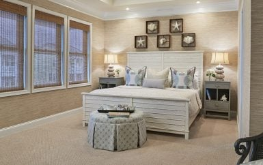 ... Sleek Upscale Bedroom; Tranquil Coastal Bedroom