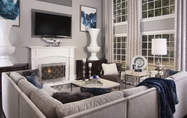 Living Room Styles - Decorating Den Interiors
