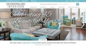 Merveilleux ... Grew Decorating Den Interiors Into North Americau0027s Leading In Home  Decorating Service And Largest Home Furnishings And Interior Design  Franchise Company ...